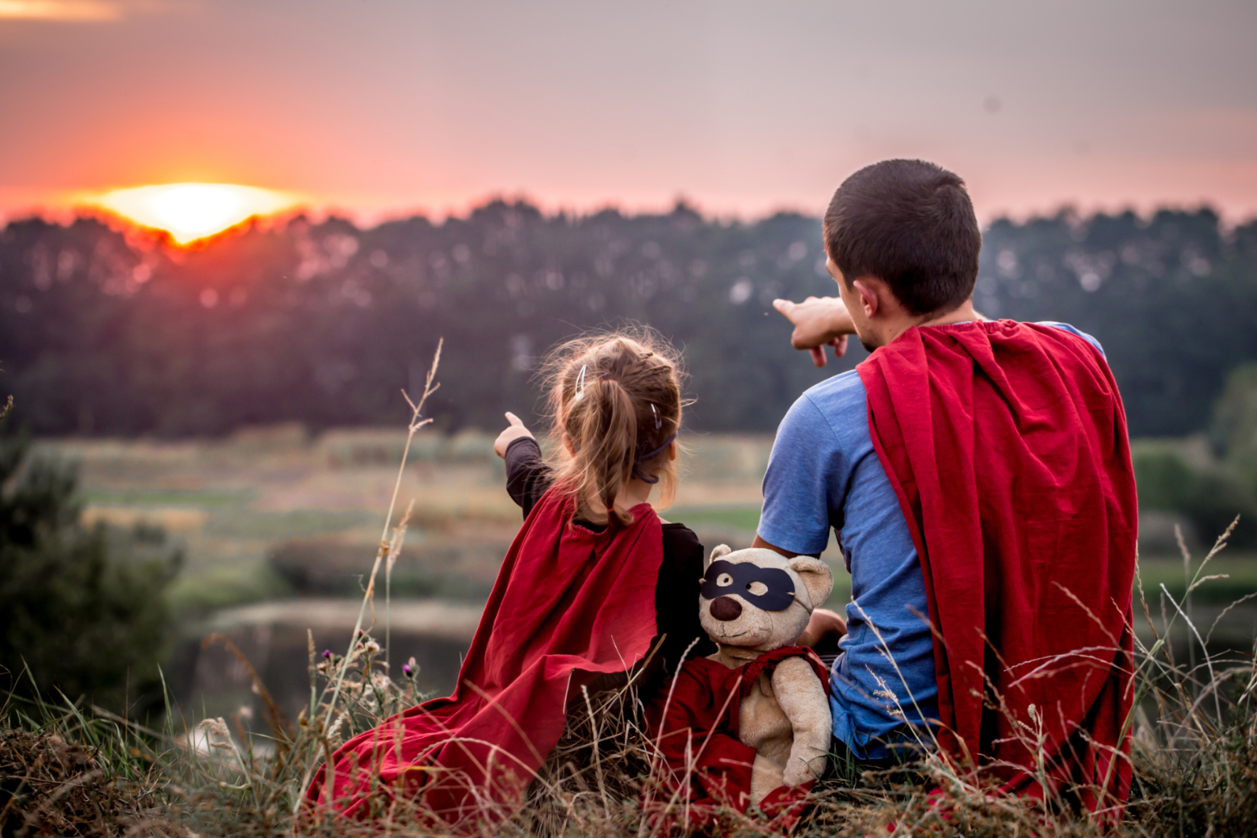 little-girl-with-dad-dressed-super-heroes-happy-loving-family